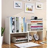 HEERA MOTI CORPORATION Engineered Wood Bookcase ,Matte Finish ,Set Of 1,White