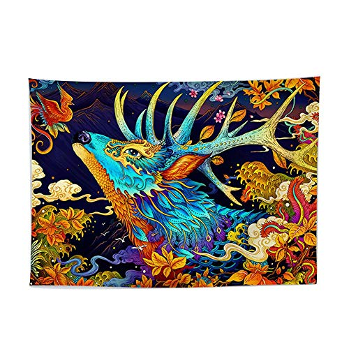 xiangpian183 Baumwolle lila Tapisserie Mandala Wandbehänge, Hippie-Tapisserien, Boho werfen böhmische Bettwäsche Stranddecke -