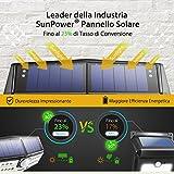 Tipo Nuovo Lampada Solare 30 LED Mpow Luce Impermeabile IPX6+, Super Pannello Solare, Lampada Energia Solare con Sensore di Movimento,Testa di Sensore Aggiornata con 120 °,Grande Luce Solare Esterna