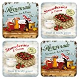 Nostalgic-Art 46014 Home & Country - Homemade, Untersetzer-Set (4teilig)