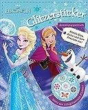 Disney Die Eiskönigin - Glitzersticker Anziehpuppenbuch: Zieh Elsa