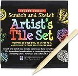 Studio Series Artist's Tiles: Scratch & Sketch (60 Pack)