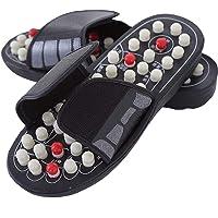 Xshuai® 1 paire de sandales réflexologiques pour massage des pieds chaussons thérapie acupuncture soins de santé