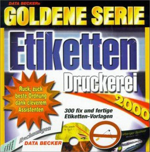 Etiketten Druckerei 2000