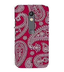 FIOBS ethinic indian patterns Designer Back Case Cover for Motorola Moto X Play