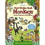 Monkeys (Usborne First Sticker Books)