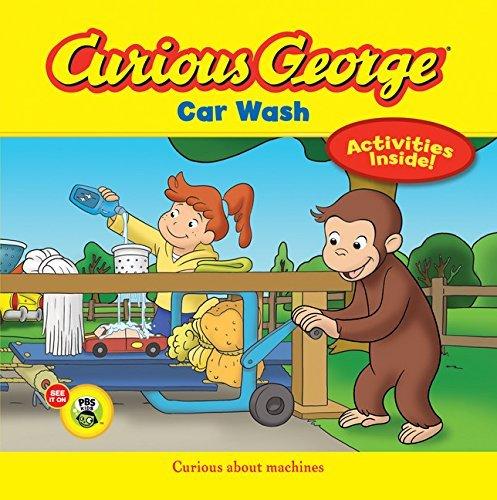 Curious George Car Wash (CGTV 8x8) by H. A. Rey (2013-06-11) (Wash Curious Car George)