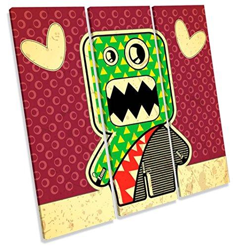 akter Treble Leinwand Wand Art Print Bild, 120cm wide x 120cm high (Cartoon Monster High Charaktere)