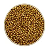 #6: Asian Hobby Crafts Colourful Shining Beads - Round, Golden