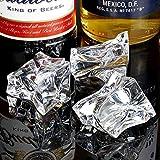 Artificiale acrilico Ice bocconcini 1kg sacchetto da 60(circa)–decorativo falso cubetti di ghiaccio per display