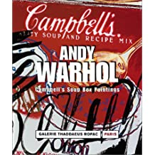 Andy Warhol: Campell's Soup Box Paintings