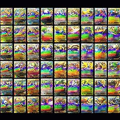 Lot de 100 cartes Pokemon TCG avec 80 cartes EX et 20 cartes MEGA [langue anglaise]