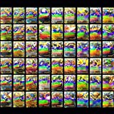 Mega EX Cards, 100 carte dei Pokemon, composte da 80 EX Card e 20 Mega EX Card