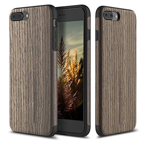 coque-iphone-7-plusrock-real-naturel-grain-de-bois-coque-etui-castpu-soupledouble-coucheplaque-metal