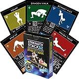Übung Karten: Stärke Stack 52Körpergewicht Workout Spielen Kartenspiel. Entworfen von