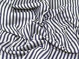 Inlett Streifen gewebt Baumwolle Möbelstoff, Meterware, violett