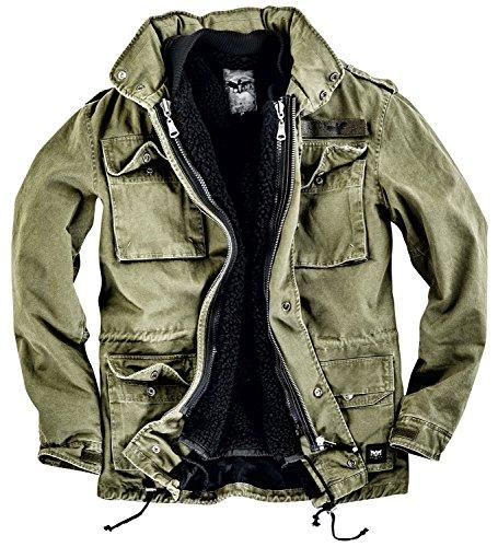 Black Premium by EMP Amy Field Jacket Jacke oliv XL (Kapuze Mit Jacket Field)