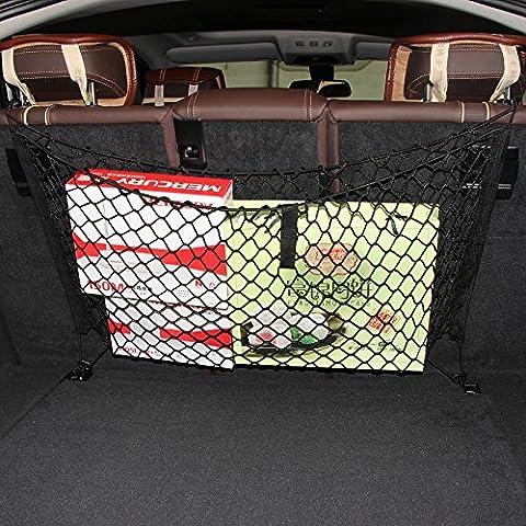 4 Hooks Car Backseat Hammock Style Cargo Net -