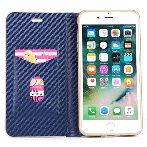 Coque iPhone 7,Coque iPhone 7 Plus, Coque iPhone 6/6S, Coque iPhone 6Plus/6S Plus, Coque iPhone Case cover, [Porte-cartes] étui Protection en Cuir Portefeuille multi-Usage Housse Rabattable(ARD-06) A
