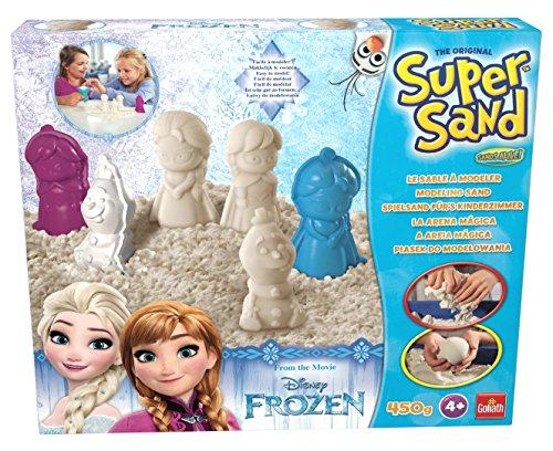 Super Sand - Frozen, actividad creativa con arena y moldes (Goliath 83224006)
