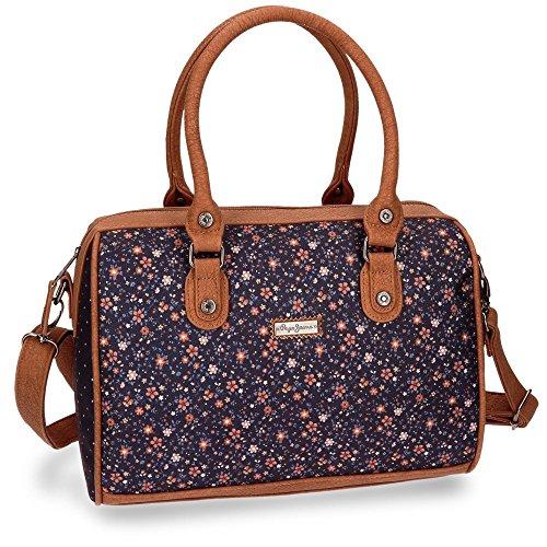 Pepe Jeans Nancy Bowlingtasche Handtasche Damen Mädchen