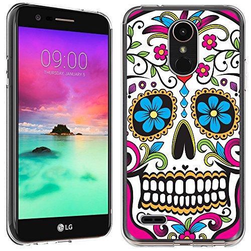 LG Stylo 3Fall-(Crystal Clear) paletteshield Weiche Biegsame TPU Gel Haut Phone Cover (Passgenau LG Stylo 3/Stylus 3) Designs 6, IM073 -