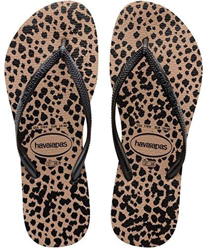 havaianas-slim-animals-womens-sandals-multicolor-rose-gold-black-8429-5-uk