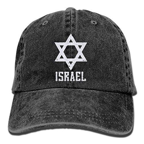 Columbia Womens Visor (JIEKEIO Funny Baseball Caps Hats Men and Women White Israel Star Vintage Jeans Baseball Cap)
