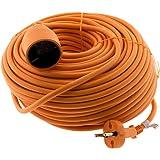 Verlengkabel, 40 m, oranje