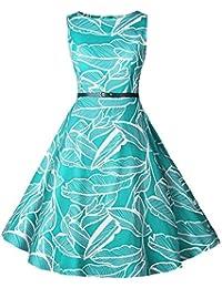 2c96054fe629 KPILP Vintage rétro 1950 s Audrey Hepburn Robe de soirée Cocktail année 50  Rockabilly Robe de mariée