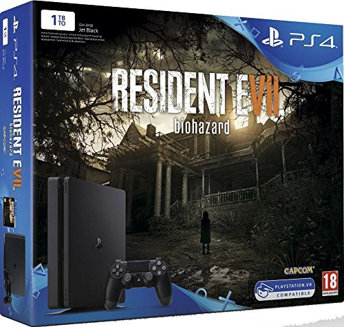 Book's Cover of Pack de Console PS4 1 To  Resident Evil 7