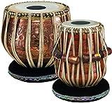 Meinl Percussion PRO-TABLA Tabla Set, Artisan Edition, Durchmesser 13,97 cm (5,5 Zoll) Dayan / 22,86 cm (9 Zoll) Bayan, copper/natural
