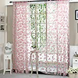 Best Home Fashion Sheer Curtains - Zibuyu Curtain Living Room Bedroom Home Door Window Review