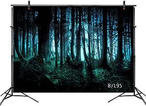 Lb 210x150cm Vinyl Verwunschener Wald Hintergrund Geist Kamera