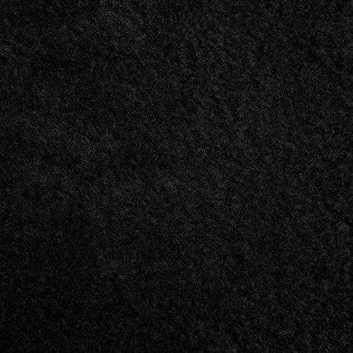 Wärmende Fäustlinge (Thermo Fleece - Anti Pilling Microfleece, schnelltrocknend & atmungsaktiv, kuschelig warm - Meterware (schwarz))