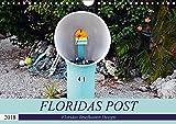 Floridas Post (Wandkalender 2018 DIN A4 quer): Floridas Vielfalt an Briefkästen (Monatskalender, 14 Seiten ) (CALVENDO Orte)