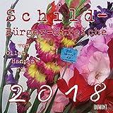 Schild-Bürger-Streiche 2018 - Broschürenkalender - Wandkalender - Format 30 x 30 cm -