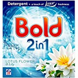 Bold 2en 1Bio Lessive en poudre Fleur de Lotus & Lily 22lavages): 1,43kg