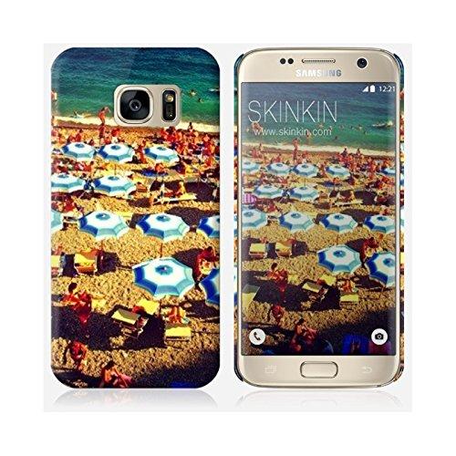 Coque iPhone 6 et 6S de chez Skinkin - Design original : Parasols par Pierre-Henry Precigout Coque Samsung Galaxy S7 Edge