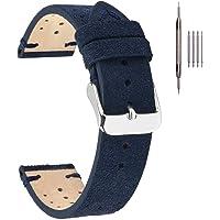 Cinturini per orologi in pelle, cinturini in pelle EACHE Rally Racing Cinturini per orologi in pelle scamosciata fatti a…