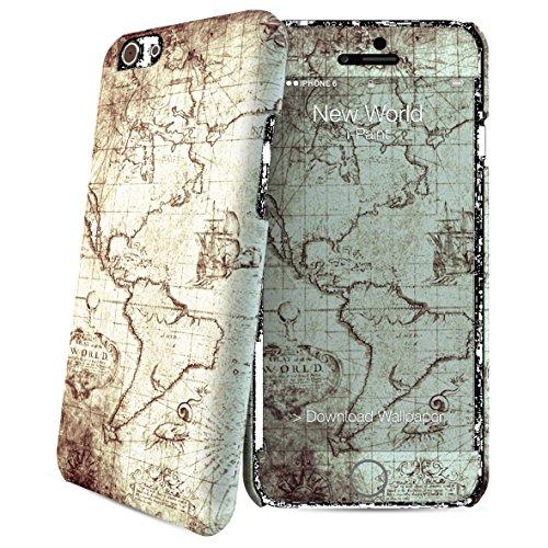 i-Paint 600524 HARD CASE + SKIN iPhone 6 Zebra Nuevo Mundo