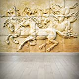 #5: NISH! 3D Wallpaper | Paper Wall Covering (Textured Paper, Small - 4ft x 6ft - 1pc, 24 sqft)