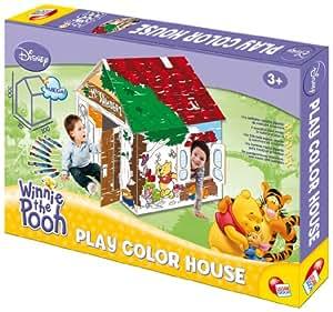 Partner Jouet - LIG142904A - Loisir Créatif - Maison à Colorier Winnie Pooh