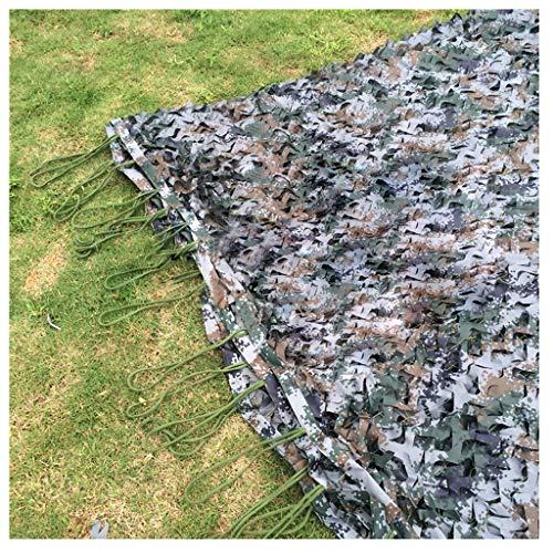 Woodland Digital Camouflage Net 210D Gewebe mit Nylonseil Festnetz Outdoor Sonnenschutz Carport...