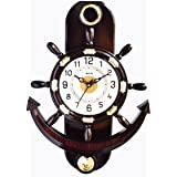 KK Craft Wall Clock for Home & Office(Big Size Wall Clock, Pendulum Wall Clock for Home   Living Room   Hall   Kitchen