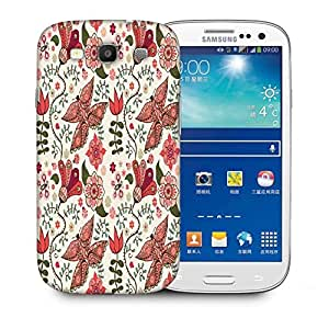 Snoogg Mixed Butterfly Printed Protective Phone Back Case Cover For Samsung S3 / S III