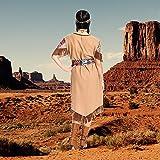 Kostümplanet® Indianerin-Kostüm Damen lang Indianer-Kostüm Wilder Westen Squaw Größe 40-42 -