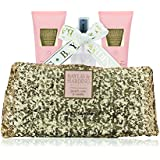 Baylis & Harding Peach/Rose/Vanilla Clutch Bag Gift Set