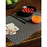 Freelance PVC Basketweave Table Mats, Kitchen & Dining Placemats, Set Of 6 Pcs, 30 X 45 Cm