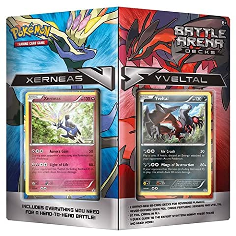Pokemon POK TCG Battle Arena Decks Xerneas vs Yveltal d8 Card Game